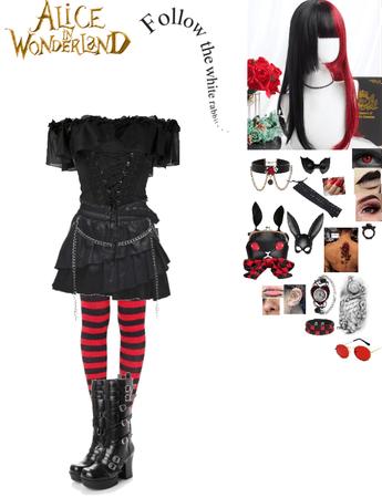 Alice in Wonderland The Black Rabbit's Daughter oc