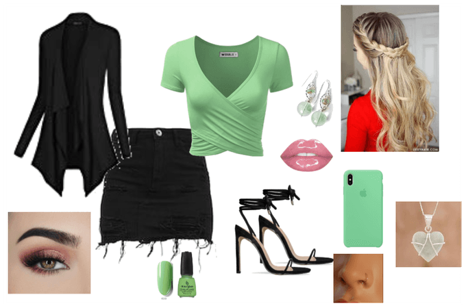 Green Leaf Outfit