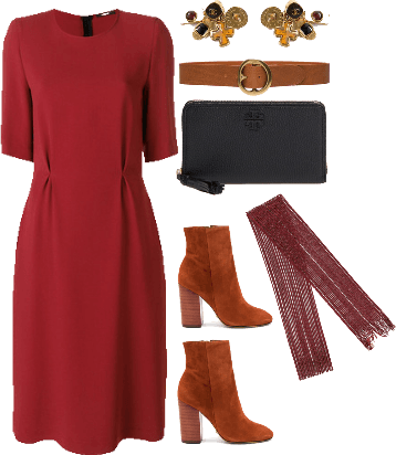 autumnal work outfit