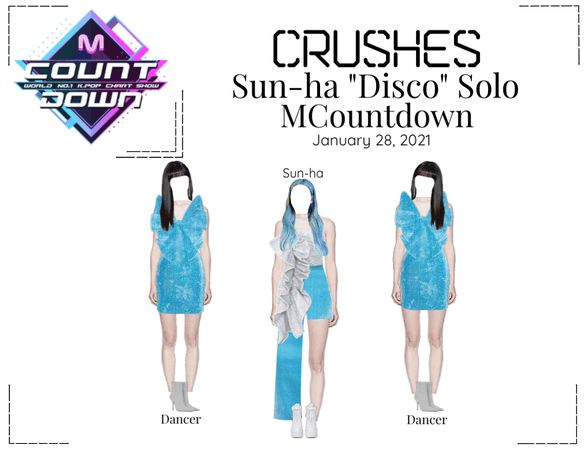 "Crushes (호감) [Sun-ha] ""Disco"" MCountdown"