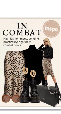 In combat