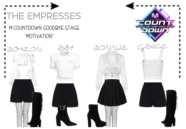 [THE EMPRESSES] M COUNTDOWN GOODBYE STAGE