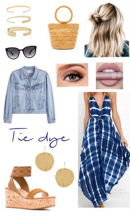 summer tie dye