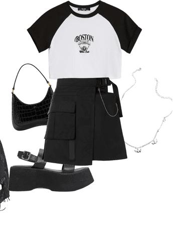dress of all black