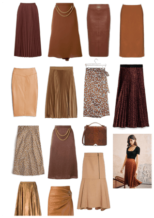 Brown skirt love