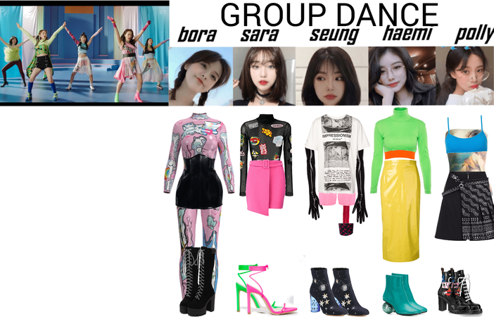 ALICE 'Abracadabra! GROUP DANCE OUTFITS