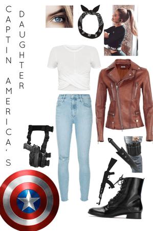 Captain America's daughter