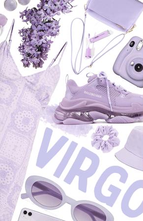♍️ Purple Virgo ♍️   VIRGO NATION CHALLENGE  
