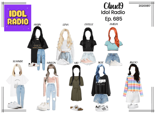 Cloud9 (구름아홉) | Idol Radio Ep. 685 | 20200817