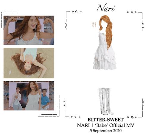 BITTER-SWEET [비터스윗] (NARI) 'Babe (배배)' Official MV 200905