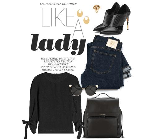 like a lady
