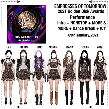 EOT [내일의황후] 2021 Golden Disk Awards Performance
