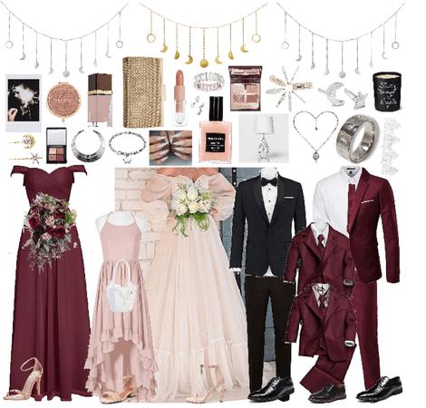 A Night Beneath the Stars Themed Wedding