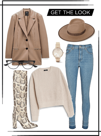 •Fall blazer outfit🍂