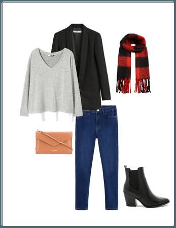 Affordable winter Dark Jean
