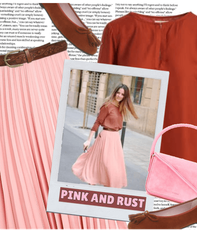 PINK AND RUST