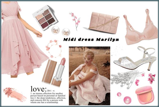 Midi dress Marilyn
