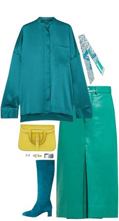 hermès emerald