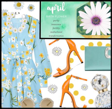 April Flower: The Daisy