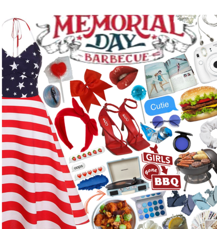 Memorial Day Barbecue 🇺🇸🍔🌭❤💙