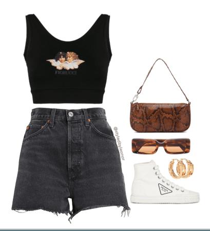 Summer Edgy Street Wear Look