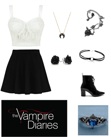 vampire Diaries Inspired Outfit (#1)