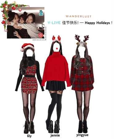 [ v-live app ] Happy Holidays !