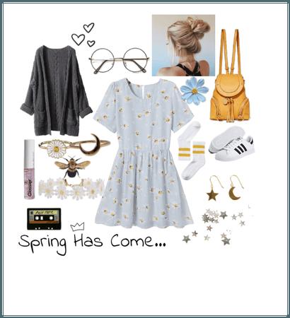 Fresh Spring Look