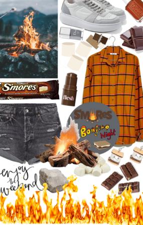 Smores Bonfire night