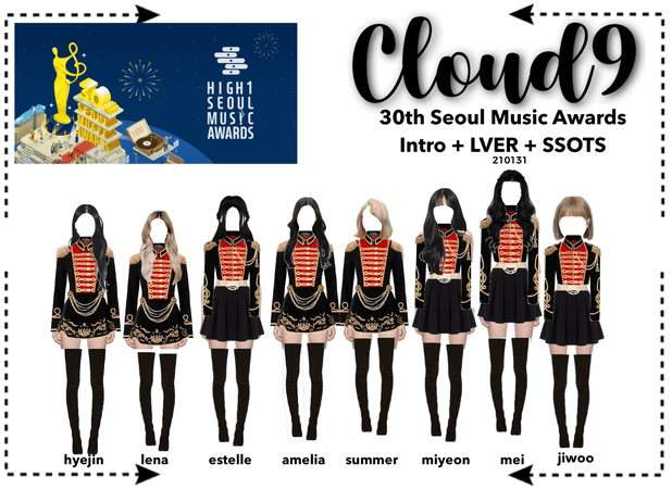 Cloud9 (구름아홉)   30th Seoul Music Awards   210131