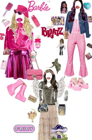 Barbie 💖 Bratz💜 Fairy💚