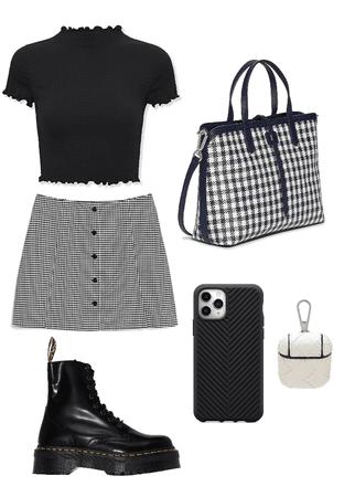 fancy black n' white
