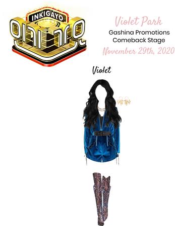 VioletPark - Gashina Inkigayo