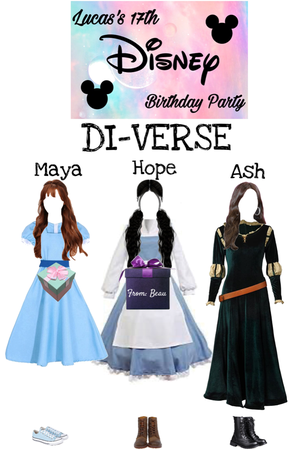 DI-VERSE at Lucas's 17th Birthday Party