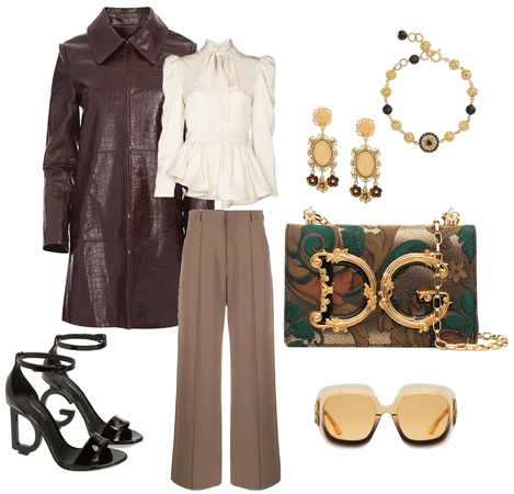 Dolce and Gabbana Look