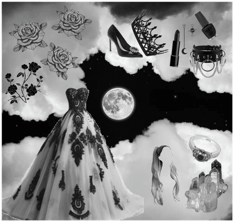 Dancing With The Clouds (black & white)