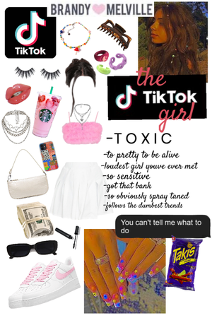 TICKTOK GIRL - her name is Emma btw no offense to absolutely no one who applies to any of this. This is a person I completely made up