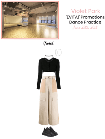 VioletPark_ 'EVITA!' Dance Practice