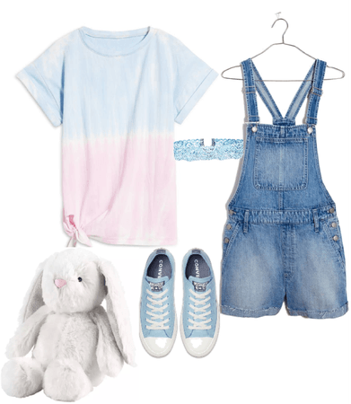 a lil pastel Easter outfit