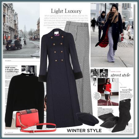 Winter Street Style: Light Luxury