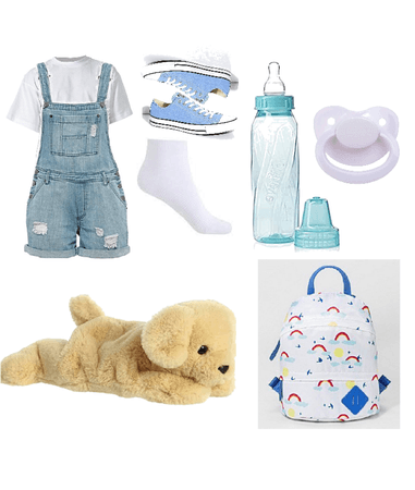 Baby Blue (age regression outfit)