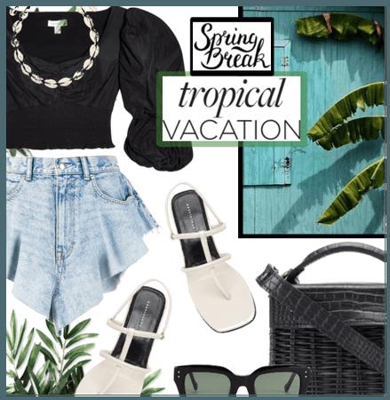 Spring Break Tropical Destination