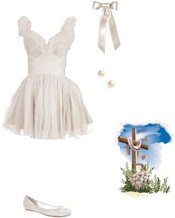 Easter in white