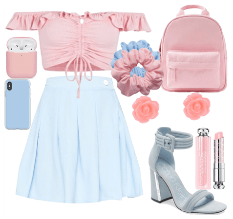 Obsessed with pink and blue!