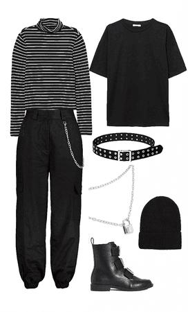 e-girl outfit