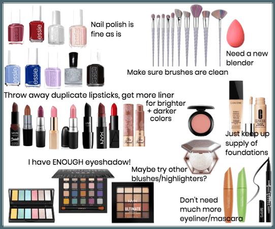My Makeup Plans