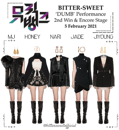 BITTER-SWEET [비터스윗] Music Bank 210205