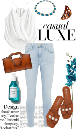 Casual Luxe Look
