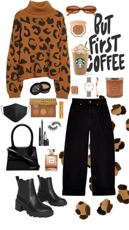 Leopard outfit for fall