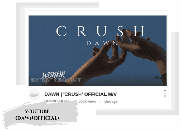 𝓓𝓐𝓦𝓝   'CRUSH' OFFICIAL MUSIC VIDEO